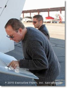 image preflight check by new owner Steven Thompson Executive Flyers, Inc. Sacramento