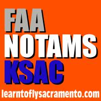 image FAA NOTAMS KSAC crane