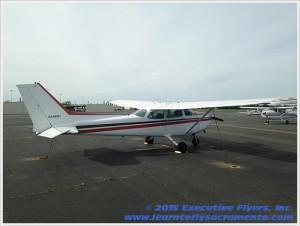 image: 1981 Cessna 172P Aircract of Executive Flyers, Inc.