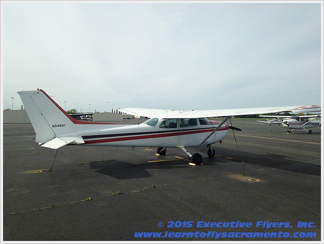 image: 1981 Cessna 172P Aircract of Executive Flyers, Inc.