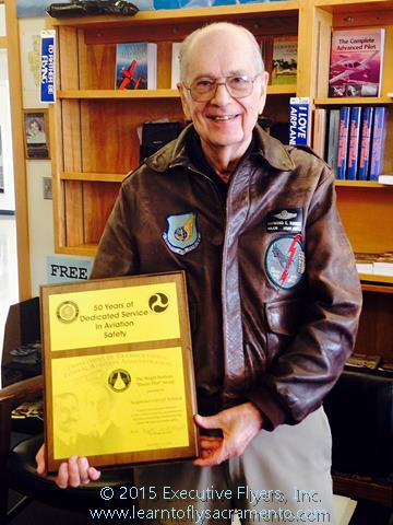 image Ray Kinney FAA Master Pilot Award